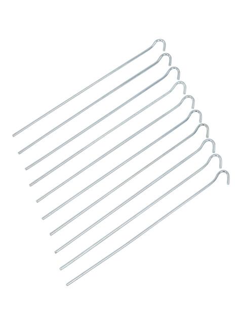CAMPZ Glatt Stahl Erdnagel 30cm